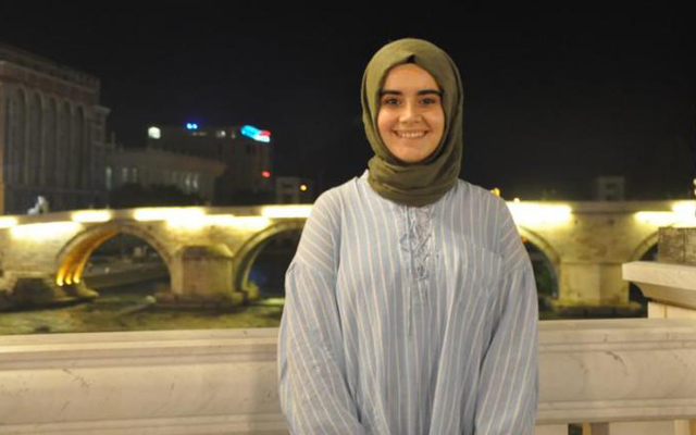 MBG Student Merve Kahraman receives Bogazici University Rectorate Award for Outstanding Academic Achievements